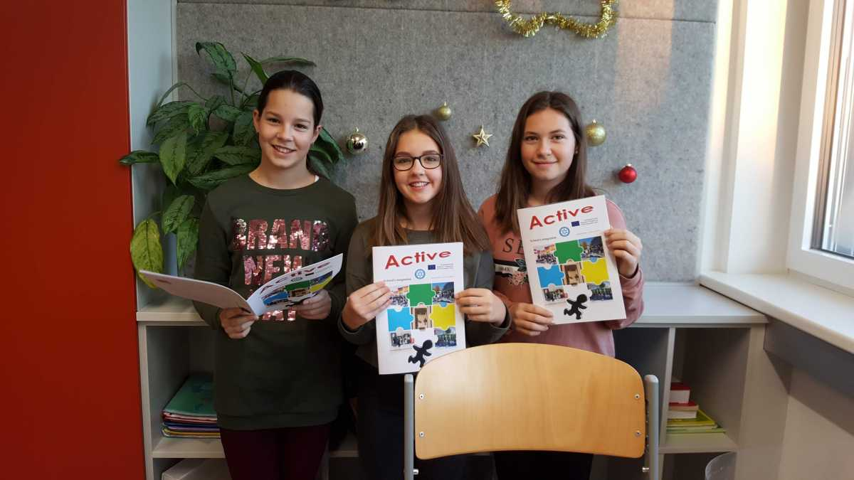 Building Bridges' first school magazine