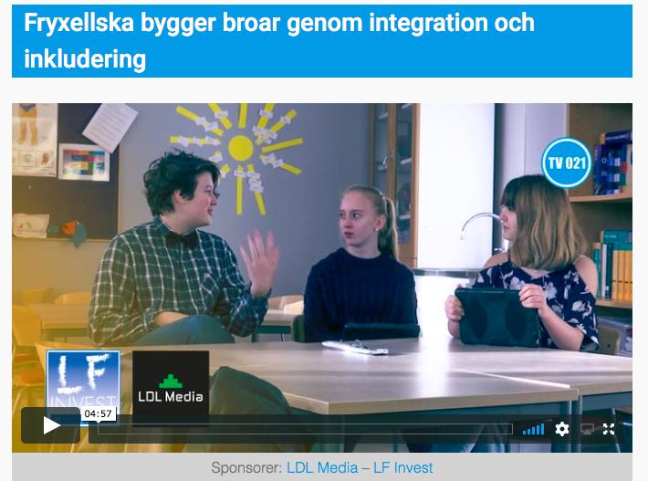 Local TV-coverage on our Erasmus+ project Building Bridges
